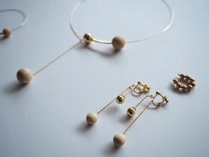 WOOD*METAL earrings
