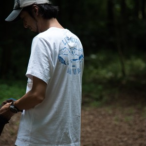 【MENS】.HYAKKEI T-shirts <MOUNTAIN>(バックプリント)