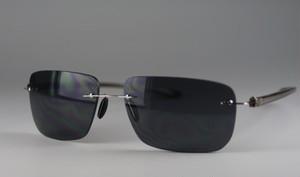 メンズ枠なしサングラス6249[ハードケース付き]