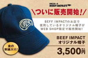 BEEF IMPACT オリジナル帽子