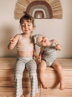 Artemis and apollo kids / Ribbed cotton crop