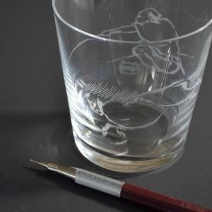 [6月2日開催]ギヤマン彫りワークショップ「北斎漫画を彫る」