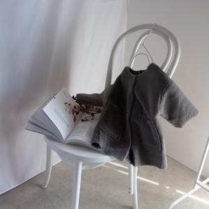 【即納】colorless fur coat