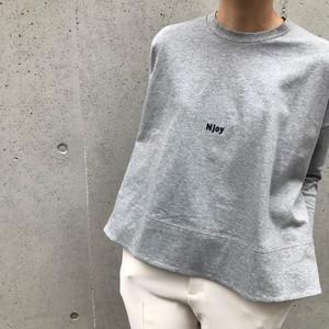anana/NjoyチビロゴAラインTシャツ