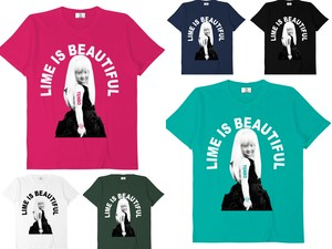 LIME IS BEAUTIFUL Tシャツ