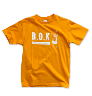 "B.O.K T-shirt ""gold yellow"""