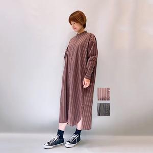 TICCA(ティッカ) ノーカラースクエアビッグシャツ 2021秋冬新作[送料無料]