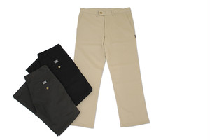 EAZY M!SS / Low Pocket Straight Chino Pants / BEIGE / M