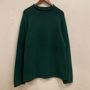 """90's """"J.CREW"""" Roll Kneck Cotton Sweater"""
