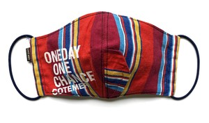 【COTEMER マスク 日本製】ONE DAY ONE CHANCE STRIPE MASK 0518-124