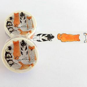 柴犬のマスキングテープ MT11