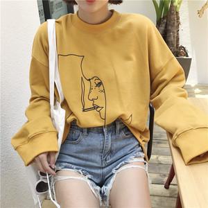 【お取り寄せ商品】レトロカジュアルプリントTシャツ 6915