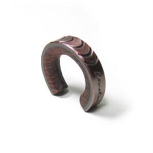 cometman 銅とブビンガ材のリング2