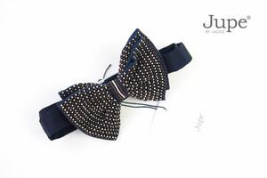 ジュープ バイ ジャッキー|Jupe by Jackie|ハンドメイドボウタイ|蝶ネクタイ|ブラウン