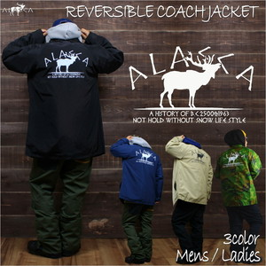 ALASKA moose 2WAY COACHJACKET as-43
