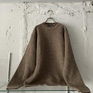 """ GANT SPORT ""  vintage wool knit"