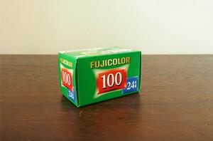 【カラーネガフィルム 35mm】FUJIFILM(フジフィルム)COLLAR100 24枚撮り