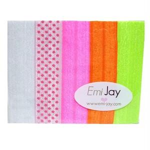 EmiJay HairTies 1Print NEON エミージェイ ヘアータイズ  1プリント ネオン