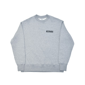 EXTRALESS Sweat Shirt EXTRALESS Gray EX19FW0007