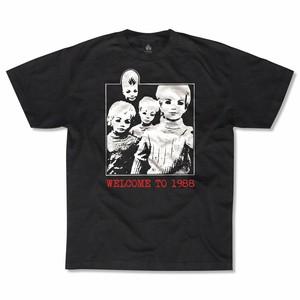 """【クリックポスト200-対応】BLACKLABEL """"Welcome To 1988"""" Tee M"""