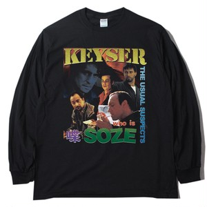 """ANSWER COLLECTION / """"KEYSER SOZE"""" L/S TEE"""