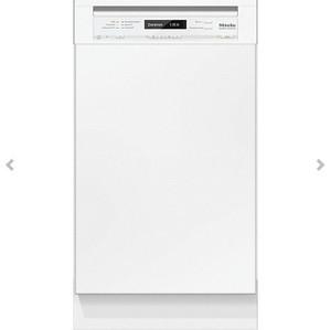 ミーレ 食器洗い機 G 4820 SCI(ホワイト/45CM)ドア材取付専用タイプ