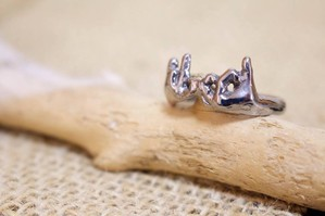 Hand Sign Ring (blood)