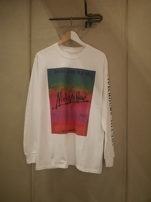 BLACK WEIRDOS / Nirvana ELVS L/S Tee (WHITE)