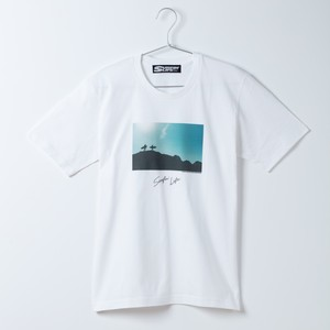 SURFIN' LIFE × Junji Kumano フォトTシャツ/(ホワイト)