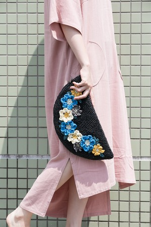 【MIKACHU WORLD】clutch bag (flower3)