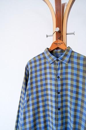 "【1950s】""French Made"" Euro Vintage Grandpa Shirts / v641"