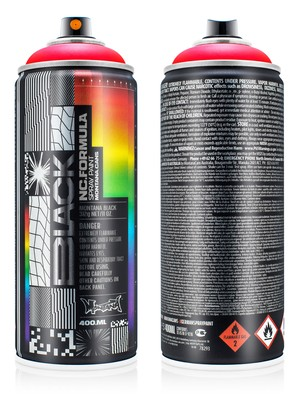 "MONTANA CANS BLACK Artist Edition ""FELIPE PANTONE"" -Infra Red-"