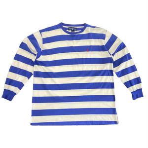 Ralph Lauren ボーダーワンポイント刺繍ロングTシャツ