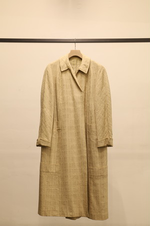 1950s SILK DOUBLE BLESTED COAT