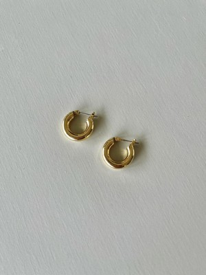 tiny hoop pierce K18GP  / yellow gold 7/8 21:00 ~ 再販 (即納)