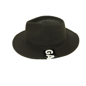 STRAW HAT (BLACK) / GAVIAL