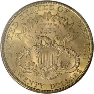USA 20ドル金貨 Liberty Head Double Eagle - PCGS MS63 - 1907