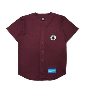 MESH BASEBALL SHIRT /BURGUNDY
