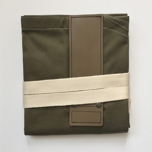 KHAKIxDARKBROWN HASHIRA-JYU mitten pocket set