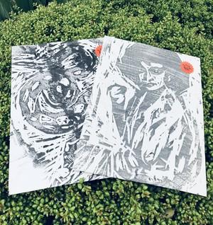"vivian sui method presents ""very good woodcut prints"""