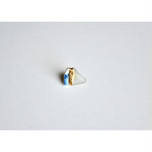 Atsuko Kobayashi【 umi-umi ブローチ〔ち〕 】シーグラス / 限定 / limited / antique / vintage / brooch / handmade / original / japan