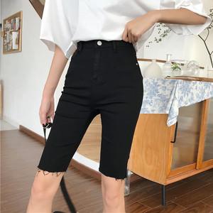 【ボトムス】ファッション通販韓国スリムショートバンツ21849924