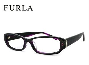 フルラ メガネ VU4806j-2gr FURLA 眼鏡 ジャパンフィット モデル  ダークパープルデミ