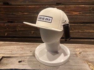Turn Me On  ロゴワッペンキャップ WATER REPELLENT加工(OFF WHITE) 521-241
