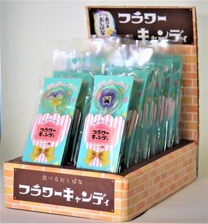 【食べるおしばな】フラワーキャンディ(いちご味)5本セット