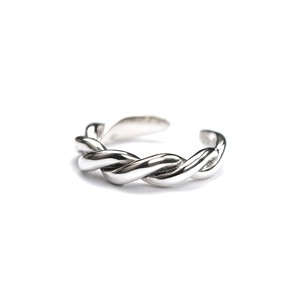 S925 TWIST THICK RING