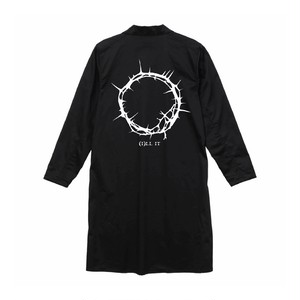 ILL IT - BOUQUET LOGO SHOP COAT (BLACK) -