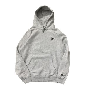 VOYAGE UTOPIA / FLY HIGH HOODIE -HEATHER GREY-