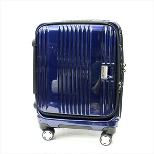 BERMAS 「EURO CITY」 FRONT OPEN TROLLEY <NAVY>