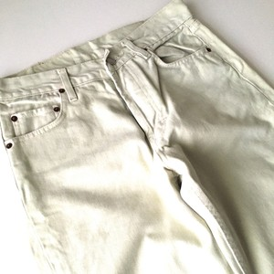 Levi's : 90's cotton twill 「501」 (used)